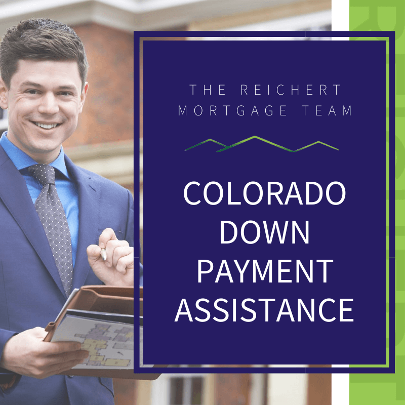 colorado down payment assistance featured image with man in suit holding clipboard
