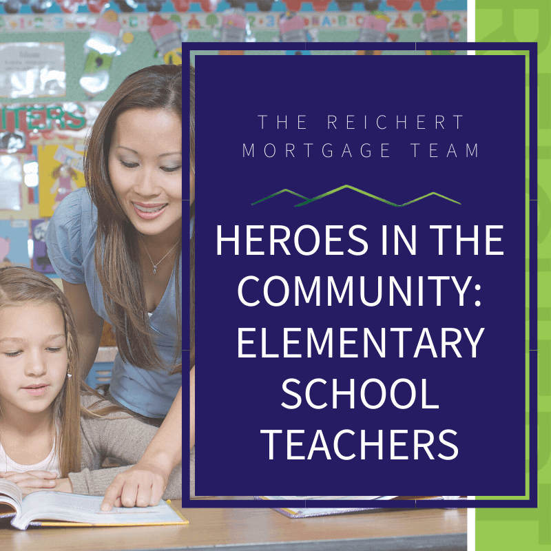 featured photo of heroes in the community spotlighting elementary school teachers