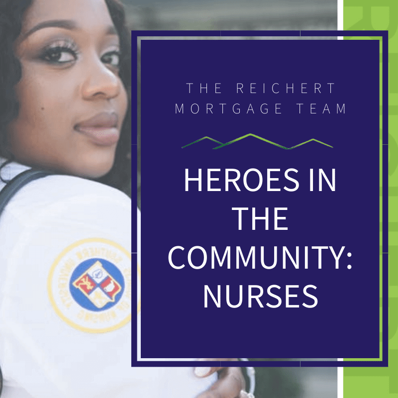 featured photo of heroes in the community spotlighting nurses